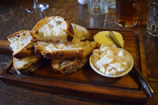Bread at The Compasses Inn, Crundale