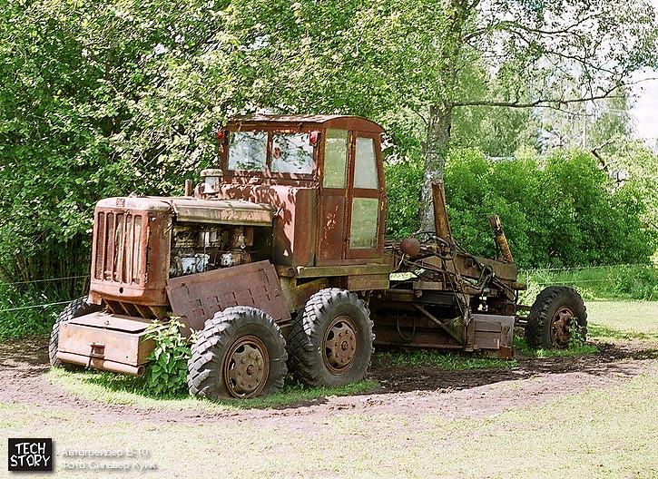 автогрейдер В-10 в наши дни