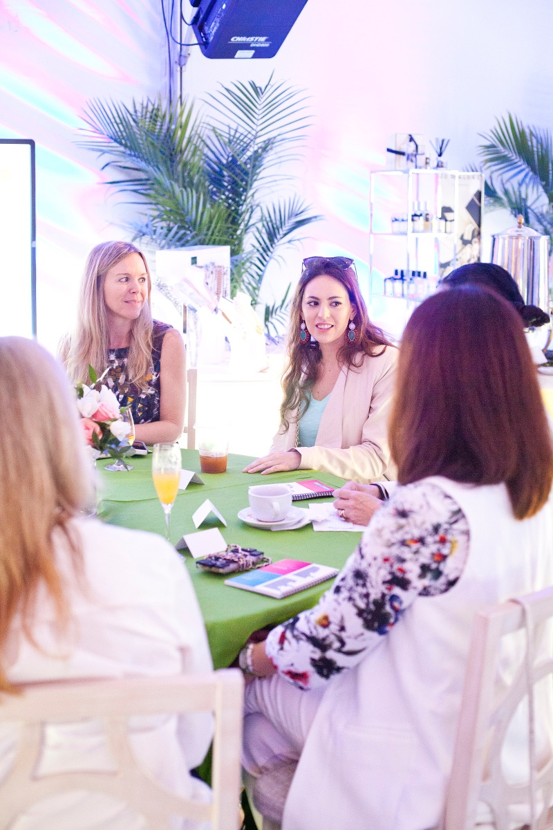 Belk Southern Style Summit Bloggers do a Garden Party Brunch
