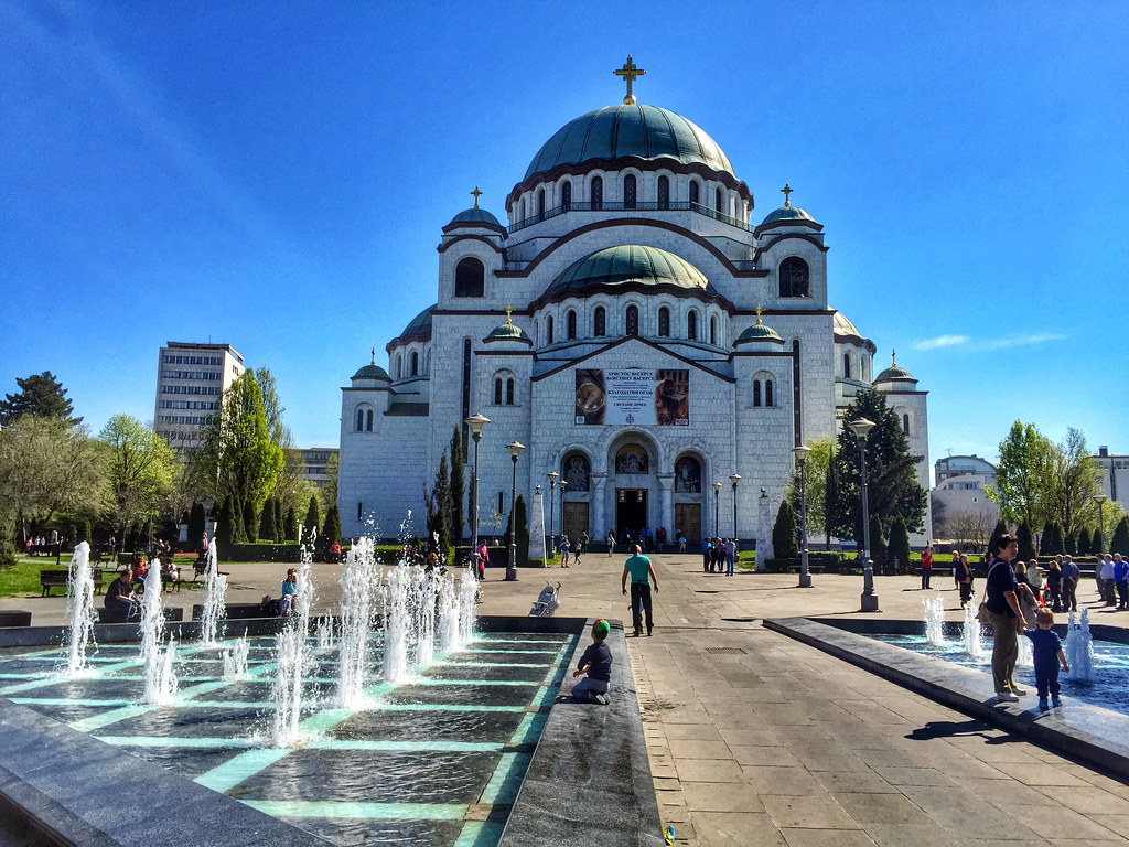 St. Sava Church in Belgrade, Serbia