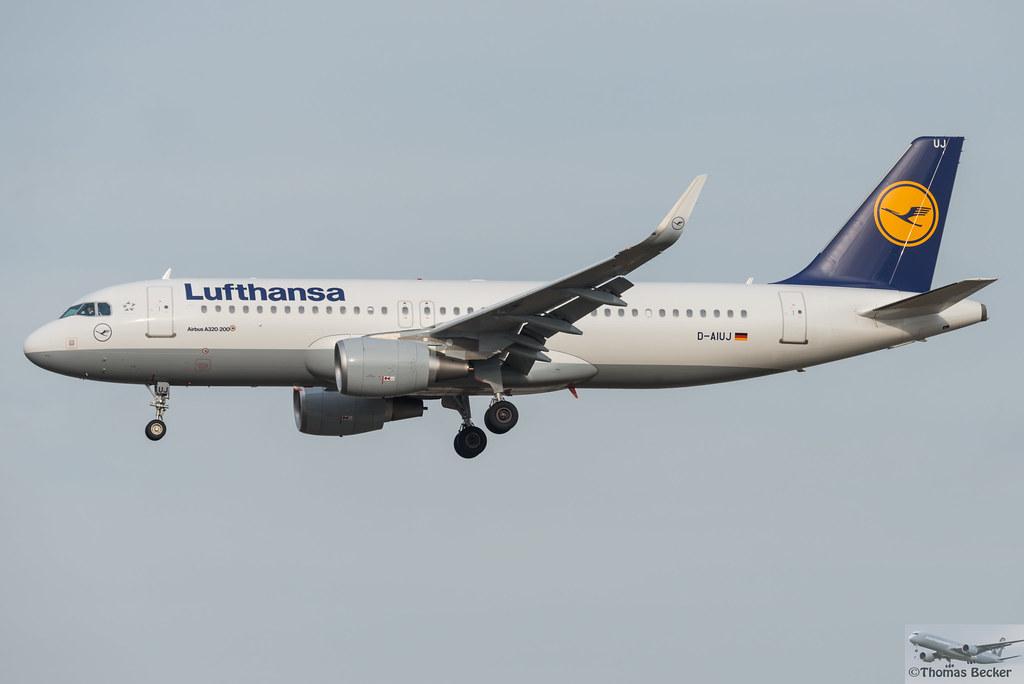D-AIUJ - A320 - Lufthansa