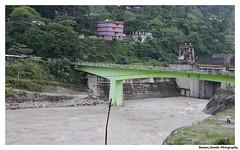 Sikkim Darjeeling Tour 2014 - Overflowing river