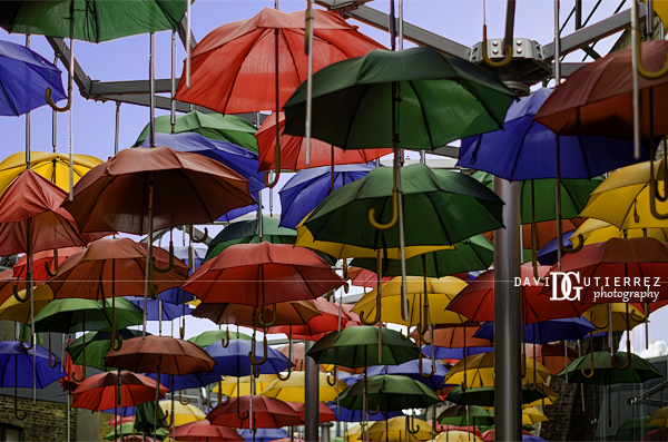 """Umbrella Art"" Borough Market, London, UK - David Gutierrez Photography, London Photographer"