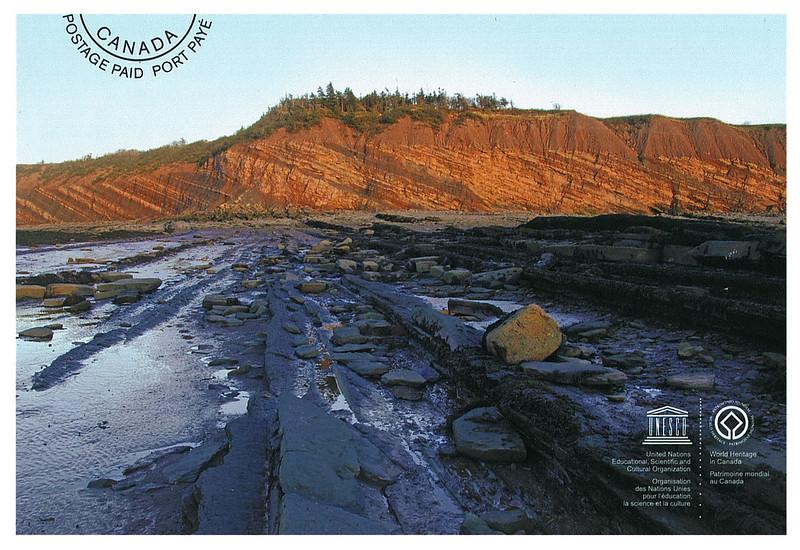 Canada - UNESCO - Joggings fossil cliffs