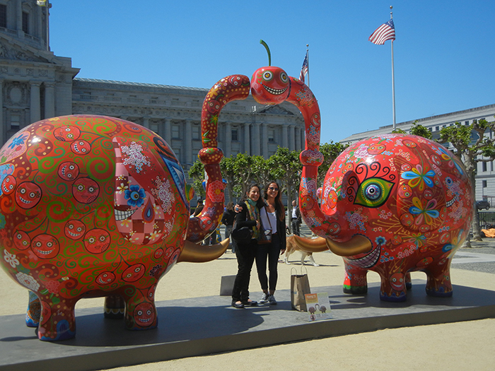 DSCN3178 - Fancy Animal Carnival by Taiwanese artist Hung Yi (洪易) at SF Civic Center