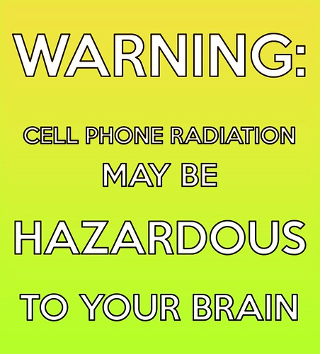 Brain Cell Phone Radiation Warning