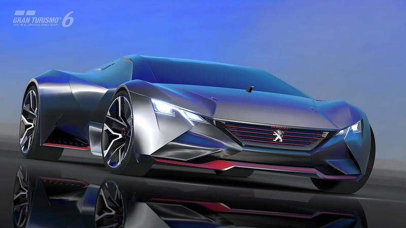 PEUGEOT Vision Gran Turismo Revealed