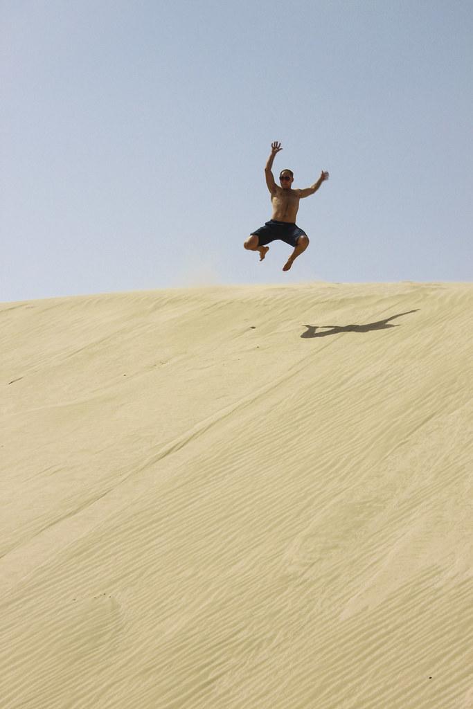 ørkentur i Qatar