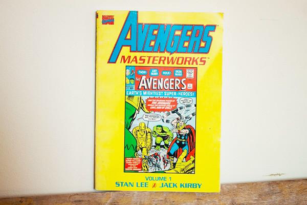 Avengers comic 1