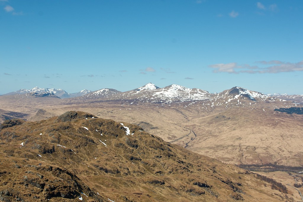 Cruachan and Tyndrum Hills