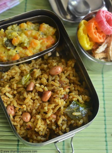 Puliyodharai, Carrot Kootu