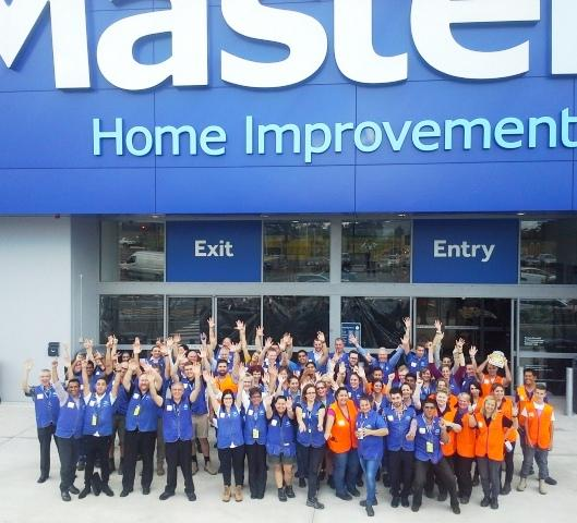 Masters' new 13,500sqm store in Rouse Hill (NSW) has officially opened