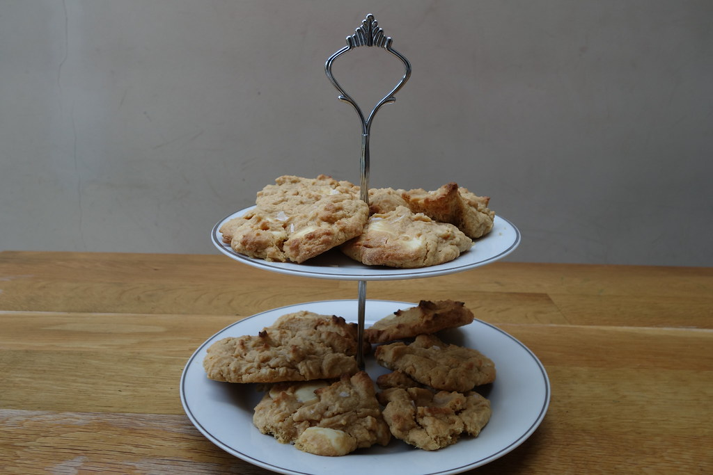 Kinako White Chocolate Gluten Free Cookies
