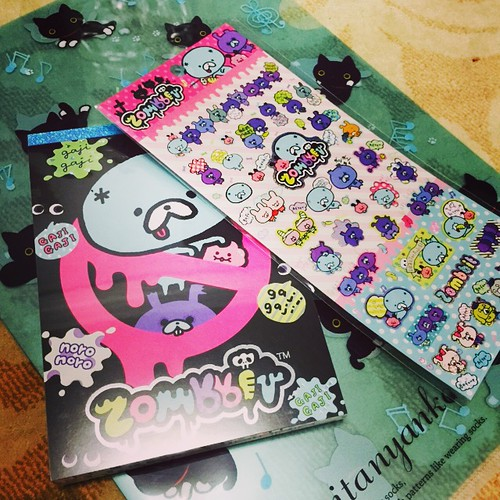 Isetan - Stickers, Notepad and file