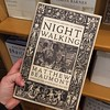 I've been home for less than 24 hours but have already checked in at a local indie bookstore to see what's new. Everything about this cover and title appeals to me: Night Walking: A Nocturnal History of London. I flipped through it a bit and it seems to b by chowmeyow