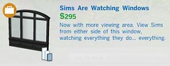 Sims Are Watching