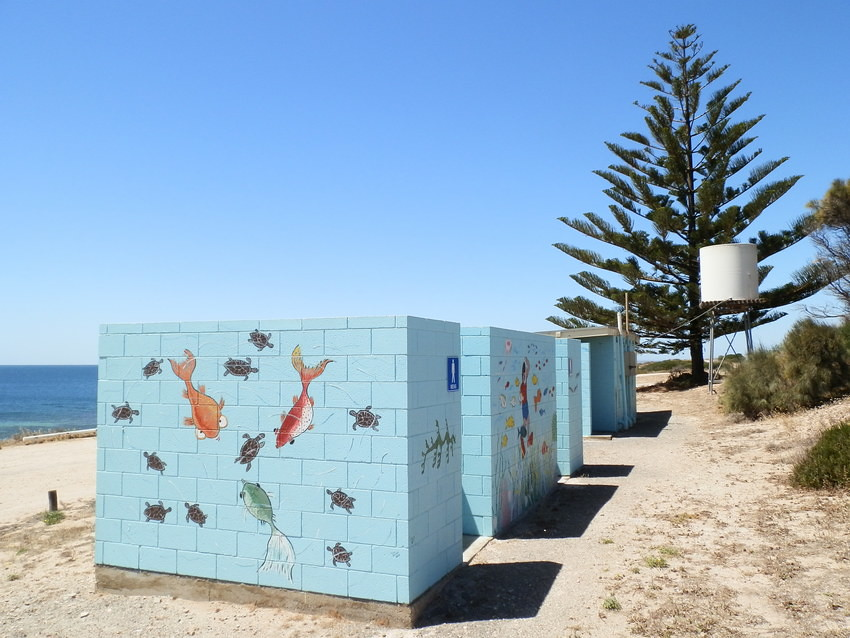 Point Turton Swimming Pool Shower Block & Loo, Yorke Peninsula