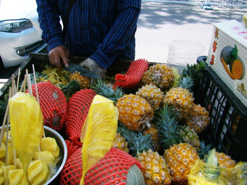 Pineapple cart