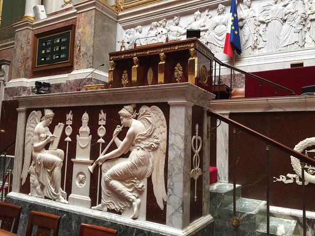Visite de l'Assemblée nationale