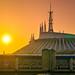 Magic Kingdom - Tomorrowland Sunrise by Jeff Krause Photography