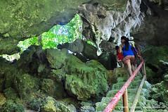 Trekking at Tabon Caves Palawan