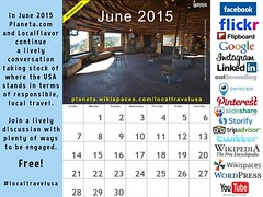 June 2015 Calendar: Responsible Local Travel in the USA