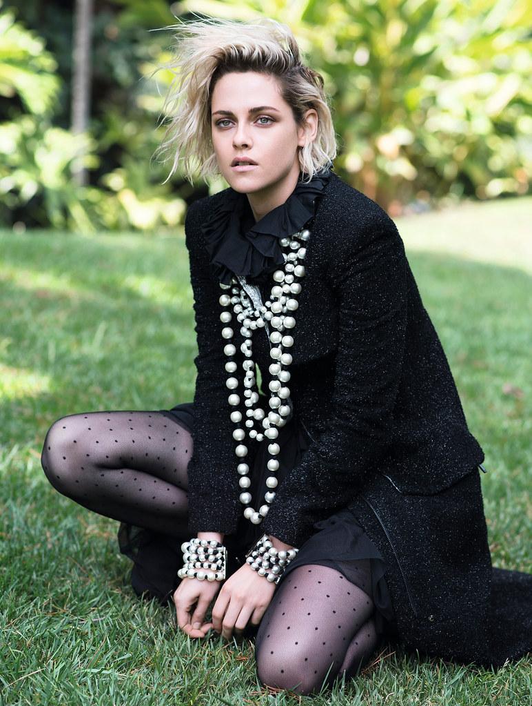 Кристен Стюарт — Фотосессия для «Elle» UK 2016 – 5