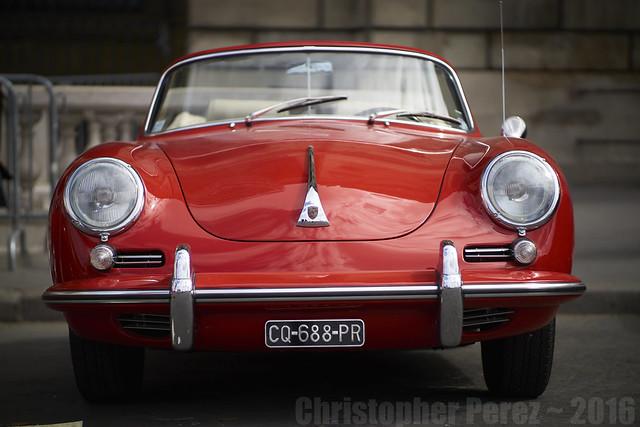 Porsche ~ la traversee de Paris estivale 2016