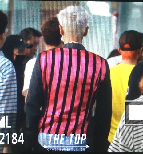 Big Bang - Incheon Airport - 07aug2015 - The TOP - 05