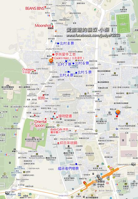 三清洞地圖1