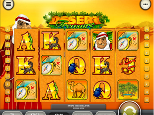 Desert Treasure™ Slot Machine Game to Play Free in Playtechs Online Casinos