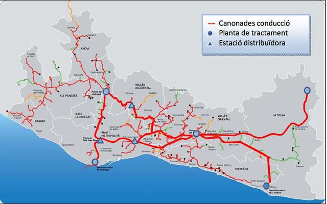 Xarxa de connexions d´Aigües Ter Llobregat (ATLL) #antifrau