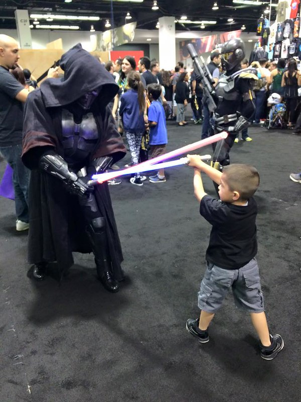 Tiny Padawan vs. Sith Acolyte