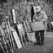 Old Painter by Street Photography candid