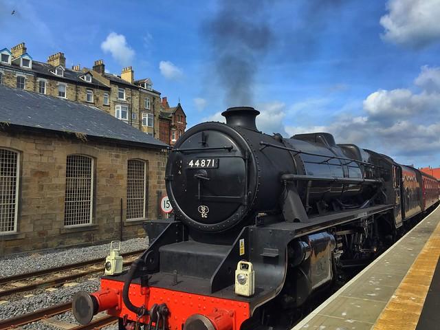 Tren de vapor de Yorkshire (Inglaterra)
