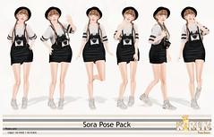 Kirin Sora Pose Pack @ Kustom 9 <3