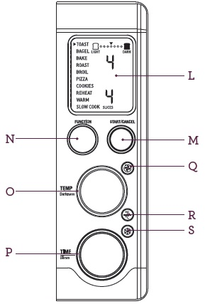 BOV810BSS Know your controls