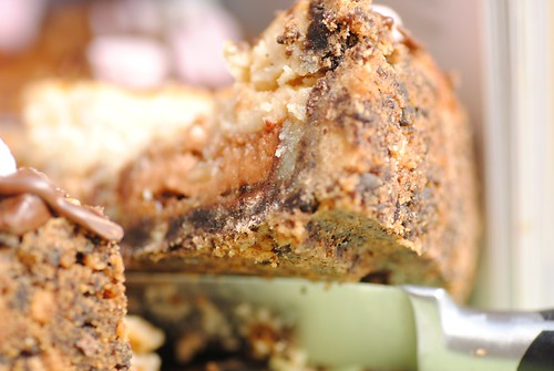 Mars Bar cheesecake pie by hummingbird bakery