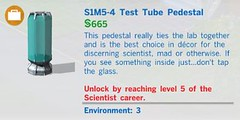 S1M5 4 Test Tube Pedestal