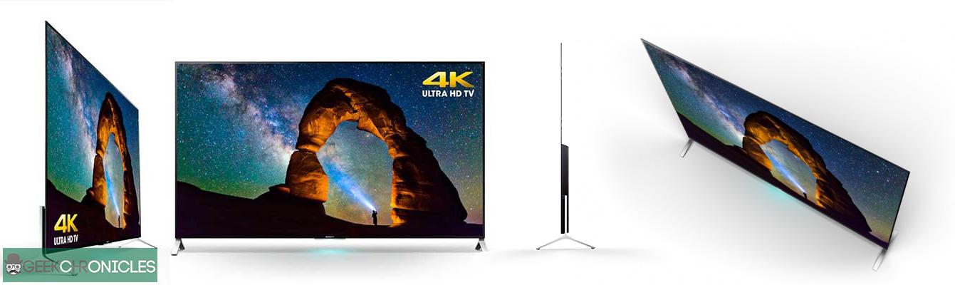 televizorul 4K Sony e mai subtire ca un iPhone 6