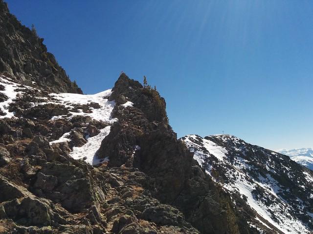 Etwas steilerer Aufstieg Richtung Schönbichl