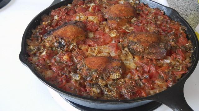 One Dish Chicken Rice Tomato 16