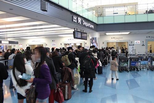 年末年始の羽田空港