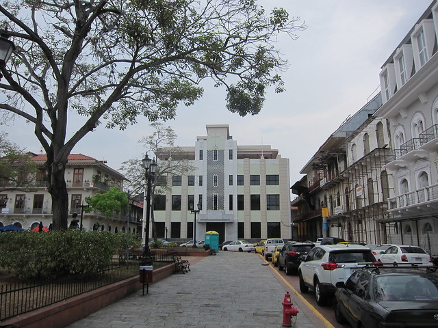 Art Deco Building in Casco Viejo