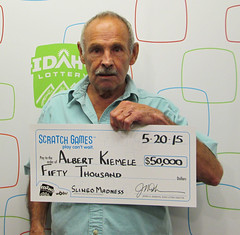 Albert Kiemele - $50,000 Slingo Madness
