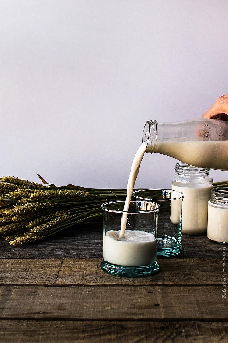 Cómo hacer leche de almendrasras-15