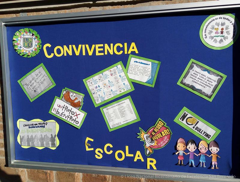 Periodico mural sobre normas de convivencia reglamento for Diario mural escolar