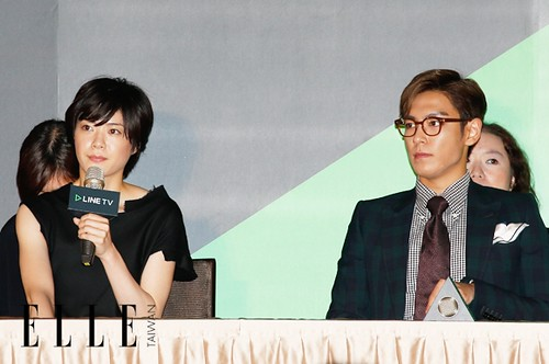 TOP - Secret Message Taiwan Press Conference - 06nov2015 - Elle Taiwan - 06