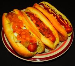 Trio - Home Smoked Bison Sausage Dawgs