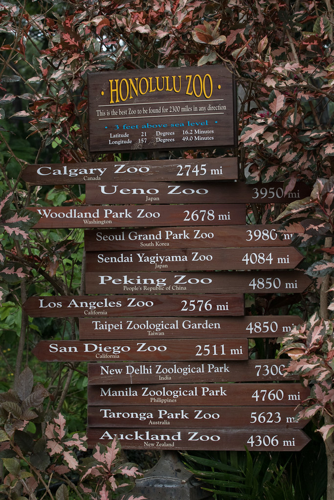 How far to other zoos?